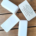 Unscented Pure Coconut Soap 2 x 120g per bar - Multipurpose Cleaning