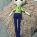 Ray of hope doll - boy With blue pant and green star shirt