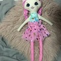 Ray of hope doll - princess print with pink