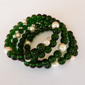 Simply Green Wrap Bracelet