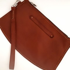 Small Leather Clutch Purse