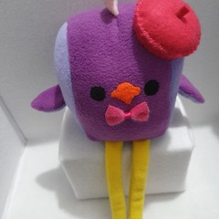 Little Loafer French BellamyBirdy Plush Toy, kids gift, collectable