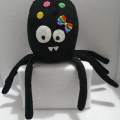 Little Loafer Rainbow Shelly Spider Plush Toy, kids gift, collectable