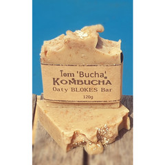 Oaty Blokes Kombucha Soap bar