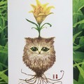 Original picture postcard - Bulbous cat001