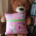"""""""Sitting Tinkabell"""" Reading/Pocket Cushion  (cover only)"""