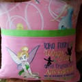 """Sitting Fairy"" Reading/Pocket Cushion  (cover only)"