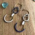 Geometric Hoop Earrings