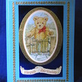 'Teddy Bear at the Gate' Child's Birthday Card