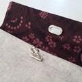 Beige Linen-look Clutch
