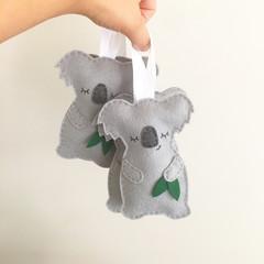 Lavender koala, sachet, Aussie animal, cuddly, scented, Australian souvenir