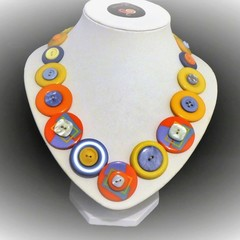 Colourful necklace - Mango Tango