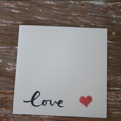 Valentine's Day Card With Love Card Red Heart Card Happy Anniversary Card