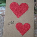 Valentine's Day Card Love You Card Friendship Card Lovers Card Anniversary Card