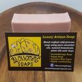 Artisan Soap Rose Geranium Pink Clay