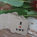 24 Valentine's Day Gift Tags Valentine's Day Tags  Choose from 6 Designs