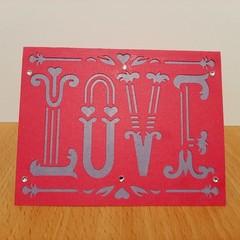 Love Valentine card Greeting Card Valentine's Day