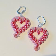 Pretty in Pink Sweetheart Earrings