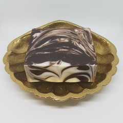 Artisan Soap Chocolate Peppermint Swirl