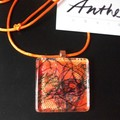 Honey - fibre fantastic pendant