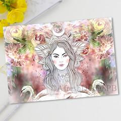 Elegant Swan Printable