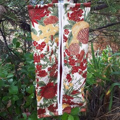 SHOE /TRAVEL BAG (XL) - Australian Flowers