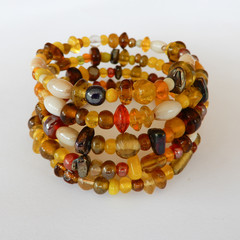 Bracelet Wrap in Yellow