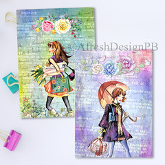 Spring Shopping Girls 2 Printable