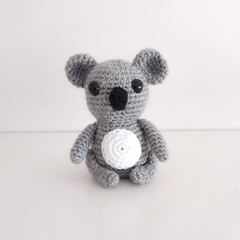 Crochet Koala plush toy, Donate to wildlife, bushfire, nursery decor,