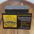 Artisan Soap Charcoal, Cinnamon and Oat