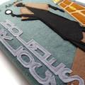 The Adventures of Sherlock Holmes Handmade Felt Book Journal - removable cover