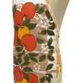 Metro Retro  Apples Tea Vintage Towel APRON -  Birthday Gift