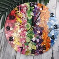 Tick Tock - Over the Rainbow Button Clock -  Resin Buttons Clock - silent motion