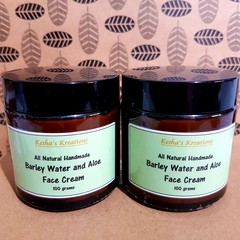 Barley Water & Aloe Face Cream 100g