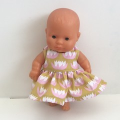 Miniland Dolls Dress to fit 21 cm dolls