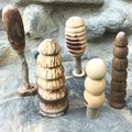 Toys of Wood tree set of five