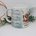 Personalised Calendar Mug, Mug, Coffee Mug, Gift,