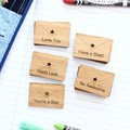 5 School Lunch box notes Select your own bamboo 1st Day Good Luck Teacher