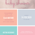 INVITATION - CUSTOMISED PRINTABLE DOWNLOAD, BABY SHOWER