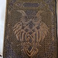 """Celtic Owl"" A5 Notebook Cover"
