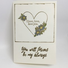 Anniversary/Love, Valentine - I love, love, love you