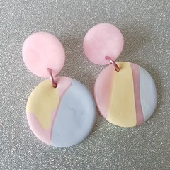 Pastel dream earrings