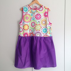 Pollyanna Dress Prototype – One-Off L Size, Ready to Ship