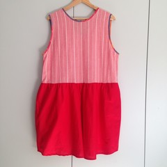 "Pollyanna Dress in ""Cherry Pie"" – 1 x MADE TO ORDER, 1 x XL Ready to Ship"