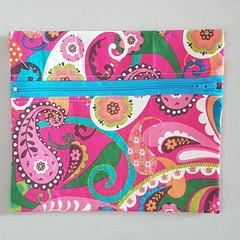 Paisley pencil case