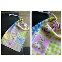 Small Teddies Drawstring Bag for Kids