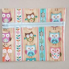 Woodland owl pencil case