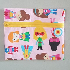 Girl power pencil case
