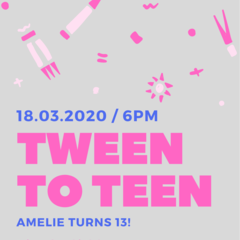 BIRTHDAY INVITATION - PRINTABLE DOWNLOAD, TWEEN BIRTHDAY