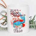 Mess with the Crabbie, You get Stabbie, Humorous Mug, Coffee Mug,Gift,